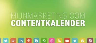 contentkalender MijnMarketing.com